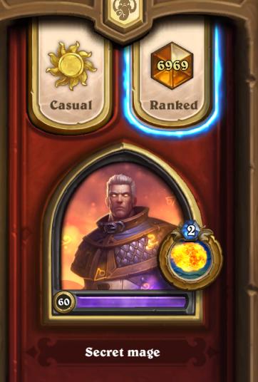 Legend rank proof