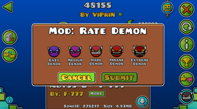 geometry dash free demons 2019