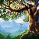A Yggdrasill Tree